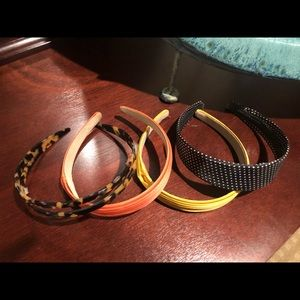 Assortment of Jcrew head bands